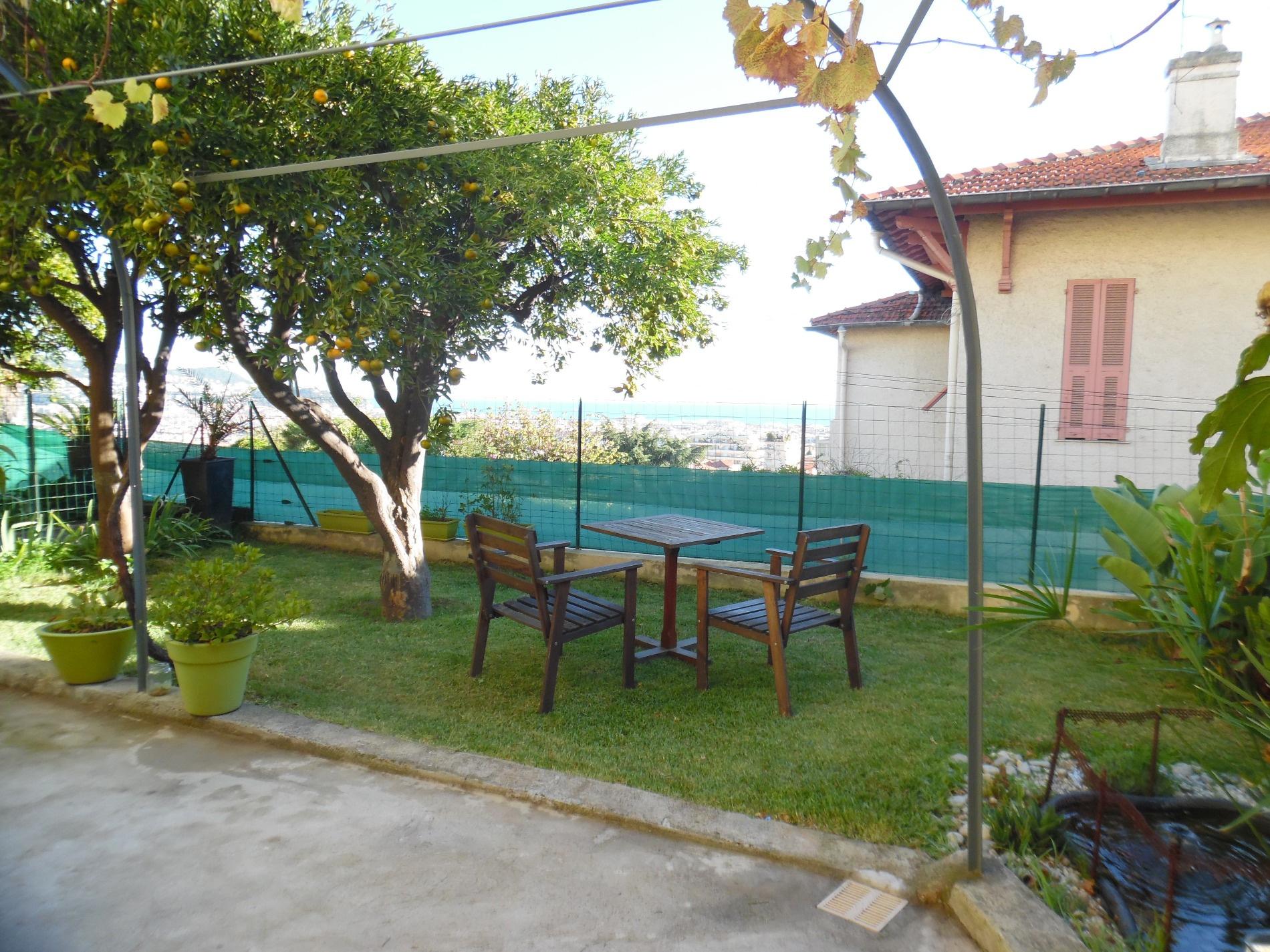 annonce rez de jardin 3 pieces nice 06100 location. Black Bedroom Furniture Sets. Home Design Ideas